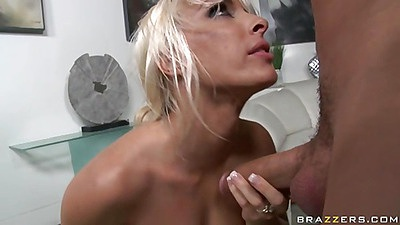 Chick lays sideways and spreads her anus for cock