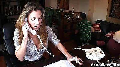 Kayla Paige is getting some phone calls