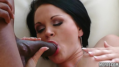 Big fat black dicks inside a pearl milf