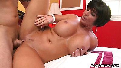 Shay Fox shaved pussy big tits fuck
