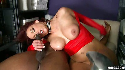 Anal sideways penetration and ass stretching