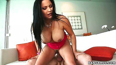 Reverse cowgirl with huge tits sophia lomeli