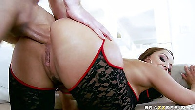 Liza Del Sierra anal fucking from behind
