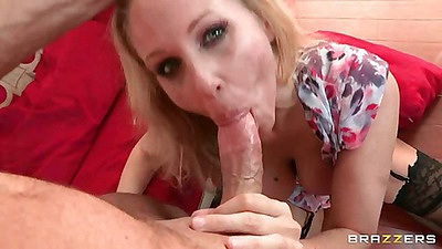 Hot pornstar gets anal fuck with legs behind shoulders