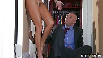 Attorney getting some nice milf ass in his office