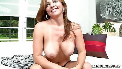 Latina ass milf undressing taking off underwear