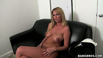 Big natural tits amateur Trixie Star naked and willing to show vagina
