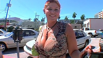 Huge tits Eden 38 DD and it says so in her name on the street