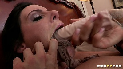 Two lesbian dominatrix milfs Tanya Tate and Phoenix Marie ripping each other