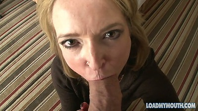 Pov big dick milf blowjob with mature Jackie Sawyer
