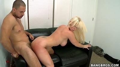 Doggy style sex with hardcore blonde fucking Kaylee Brookshire