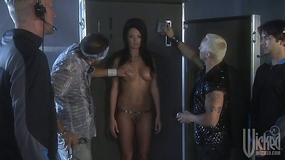 Robot slut Kirsten Price is looking good and skinny