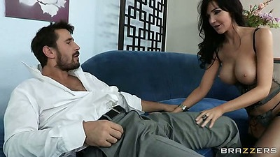 Big tits milf Diana Prince is a mom that likes to get down ugly