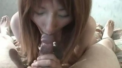 Asian pov cock sucking and smiling