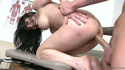 Patient with big dick fucks busty doctor Veronica Avluv