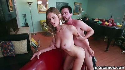 Standing fuck from behind with perfect body Olivia Blu
