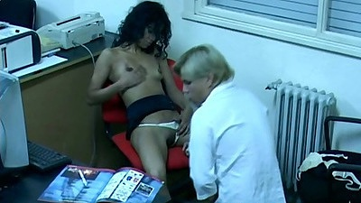 Office latina getting drilled in the office when nobody is watching