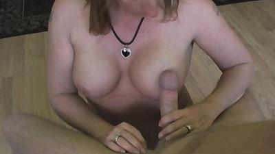 Pov mature mom handjob and sucking cock Shellys Treats