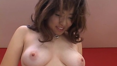 Nice and perfect tits on this asian cutie titty fuck